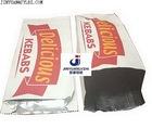 takeaway food wrap aluminum foil paper kebab bag