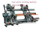 pvc plastic window and door CNC Four-point best price welding machine