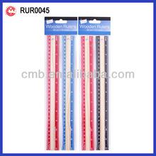 US market 30cm Wooden School Ruler