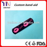 customized band aid latex free