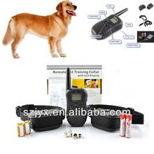 Remote Control 100 Level LCD Dogs Anti Bark Training Collar