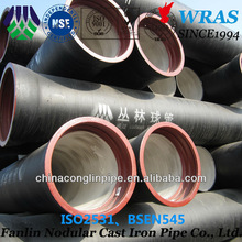 Longkou factory cement lined ductile iron pipe