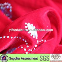 high quatity micro velvet new sample garments materials