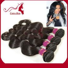 Carina Hair Products 2014 Top Seller Cheap Brazilian Virgin Human Hair Natural Unprocessed e Body Wave Human Hair Weaving