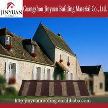 tetto in metallo rivestita in pietra piastrelle con tetto basso costo mattonelle di restauro