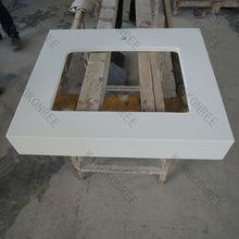 Absolute White Prefabricated Vanity top