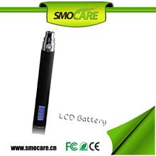 Variable Voltage with LED Display Battery EGO-V E Cigarette