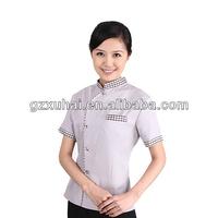 2014 popular women office uniform style for hotel office