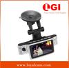 high quality dual lens Novatek X9000 2.7 inch 120 degree 1080P FULL HD car dvr cctv