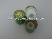 Whisky aluminum and plastic cap