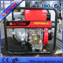 China diesel high pressure water pump for clean