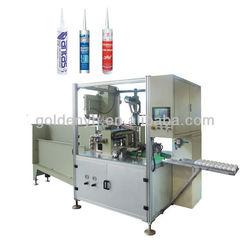 silicone sealant full automatic cartridge filler ZDG-300 filling machine silicone sealant