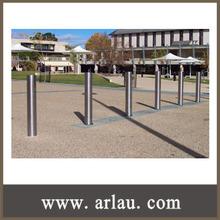 (BL-001) Outdoor Park External Stainless Steel Parking Bollard