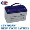 24V sealed lead acid battery 100Ah (2 PCS*12V100Ah)