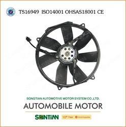 Car Body Parts Electric Plastic Cooling Fan Radiator Fan Assembly 12V