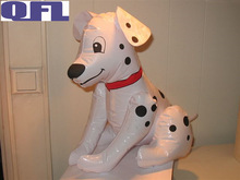 Inflatable Dog Model, Inflatable Spotty Dog Toy