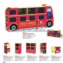 Hot Sale! Latest Theme Style Kids Wooden Toy Storage Shelf,Kindergarten Storage Shelf