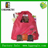 Hot Sale Cheap Recycled Nylon Folding Bag With Pouch