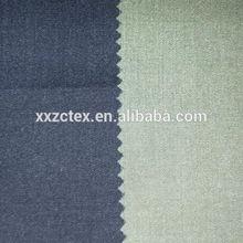 Color de moda 60% algodón 40% poliéster camisetas de la tela