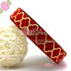 5/8'' fold over elastic headband custom printed elastic ribbon printed fold over elastic printed elastic