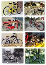 Motorised Bicycle Engine kit 80cc 2 stroke/80CC GAS Motor Bicycle 2-Stroke Engine Kit Motorized Bike
