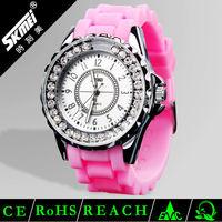Hot fashion geneva silicone jelly watch quartz watch sr626sw