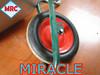 """Factory heavy duty 13"""" Wheelbarrow Solid Rubber Wheel"""