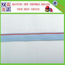 China manufacture custom strap elastic jacquard webbing for underwear