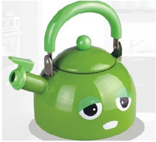 enamel expression painting 1.3L whistling kettle