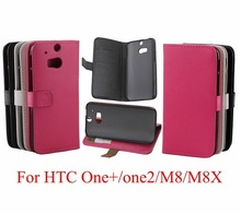 Crazy Horse PU Leather Case Cover Pouch for HTC One M8,inner standing