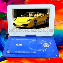 7 Inch 2.0 Usb Portable Dvd TV/SD/MMC/Card/FM