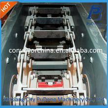 Hot sale ss slat chain conveyor for silo
