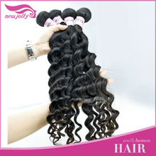 Stock cheap Factory price virgin unprocessed wavy human hair 22 inch weave hair extension