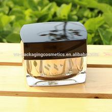 Acrylic Square Face Cream Jar 30ML Empty Jar Cream