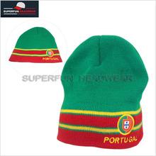 custom green 100% cotton kufi crochet beanie skull cap knit hat