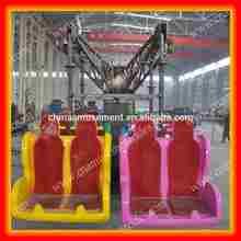 Quality tells! children amusement park equipment swing rides for sale paratrooper ride