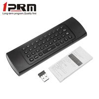 Top sale mini wireless keyboard universal ir remote control for akai tv PA-03M