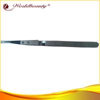 2014 wholesale new 3D volume eyelash extensions X type tweezers,professional eyebrow X tweezers