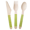 Fancy Party Promotion Color Spoon Fork Knife Set