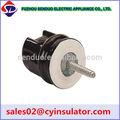 pequenas cerâmica isolante elétrica da isolação do fio tipos do eixo com isolador