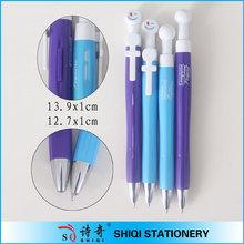 China novelty plastic naked couples pen