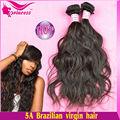 Traje para negro mujeres! Agraciado y elegante brasileño de la onda natural virginal del pelo