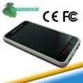 bolsillo móvil solar cargador 3600 mah