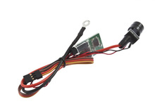 Controllato a distanza motore glow auto booster/interruttore rcd3002( buzzer versione)