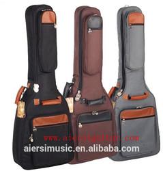 China hot sale colour padding guitar gig bag
