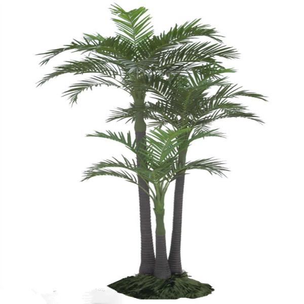 Large outdoor artificial areca palm tree fake pinang bonsai trees with
