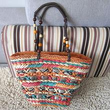 2014 New Design Straw Bag vintage special designer handle bags S034