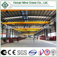 Foundries & Spare Parts Factory Single Beam Electric Hoist Bridge Crane