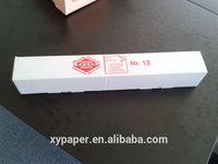 cheap custom printed E flute strong packaging white italian pizza box