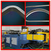 SB-89NC manual hydraulic tube angle iron bending machine used in the guard against thefe and fitness equipment